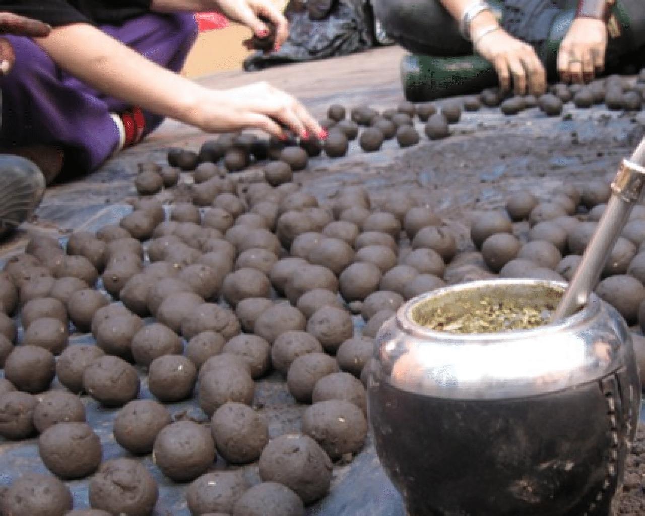 Bombas de semillas agricultura natural la huertina de toni - Preparacion de la tierra para sembrar ...
