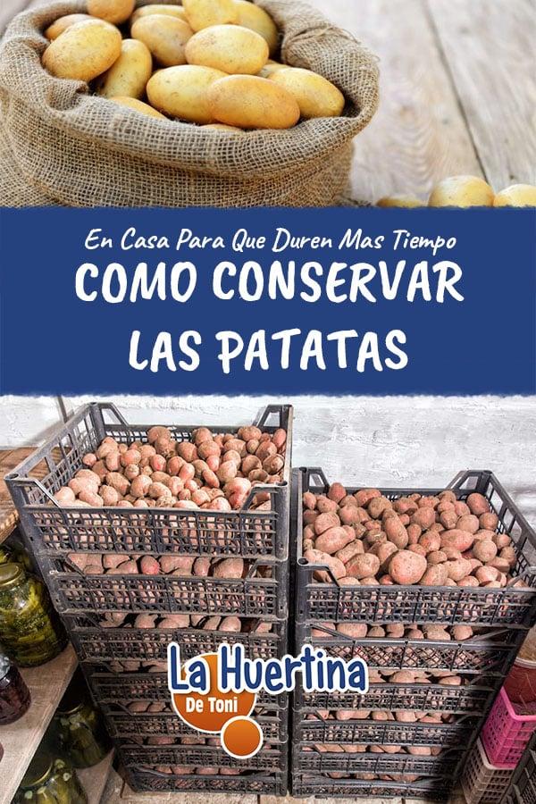 Como Conservar Las Patatas Para Que Duren Mas Tiempo