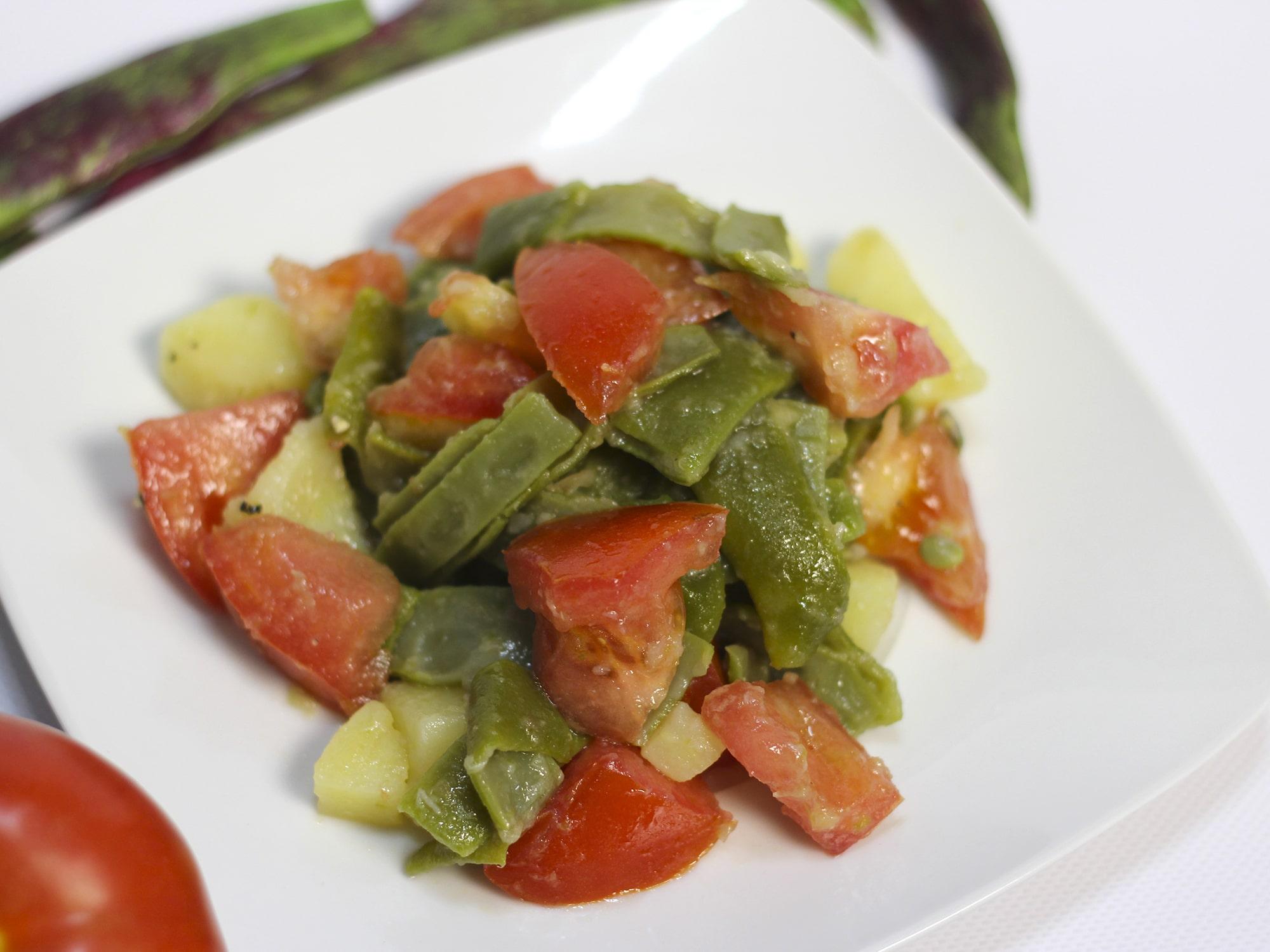 C mo hacer una deliciosa ensalada de jud as verdes la - Como hacer judias verdes ...