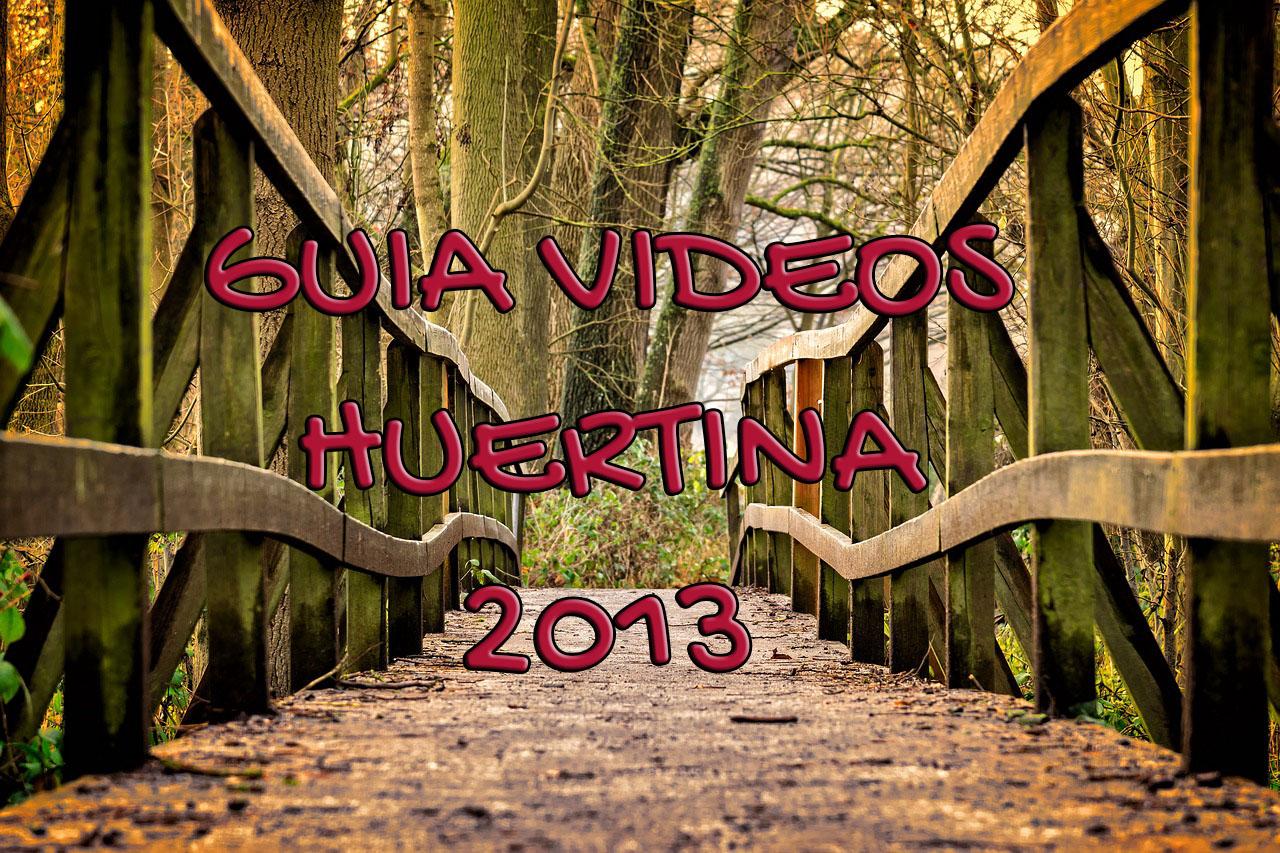 Indice Vídeos Subidos De La Huertina 2013