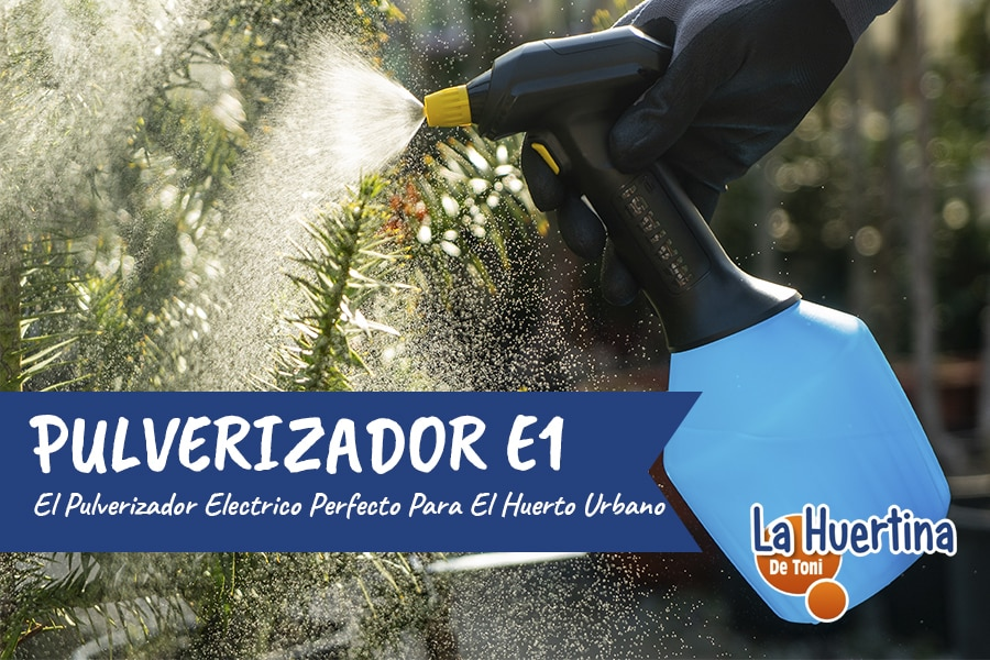 Pulverizador Eléctrico E1 De Matabi – Aliado Del Huerto Urbano
