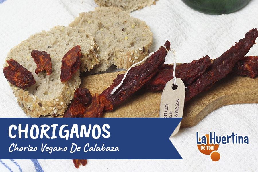 Choriganos, mi receta casera de Chorizos Veganos de Calabaza