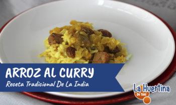 Arroz al Curry, fácil, sin complicaciones y deliciosa