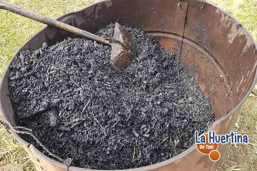 como hacer biochar