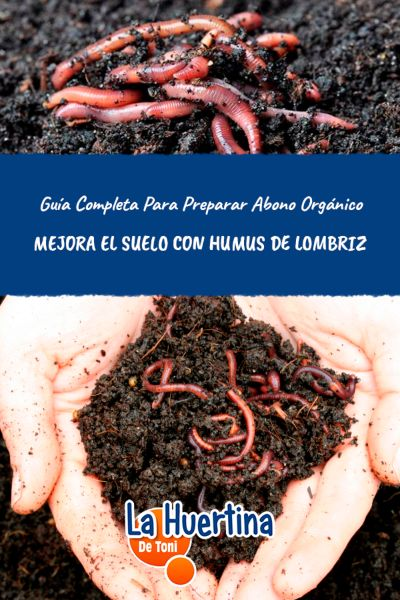como se prepara el humus de lombriz