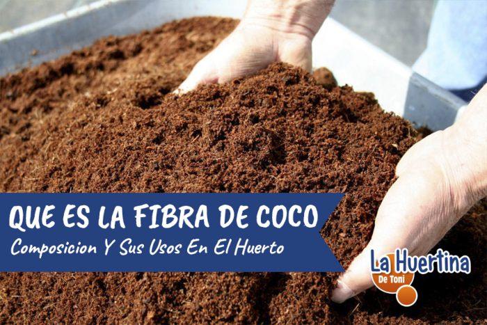 fibra de coco