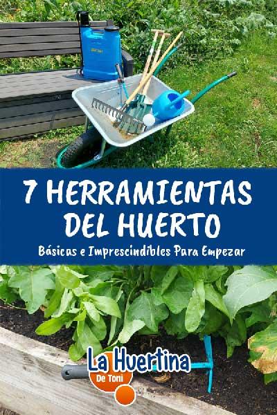 herramientas para sembrar
